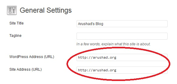 These URL's must match!