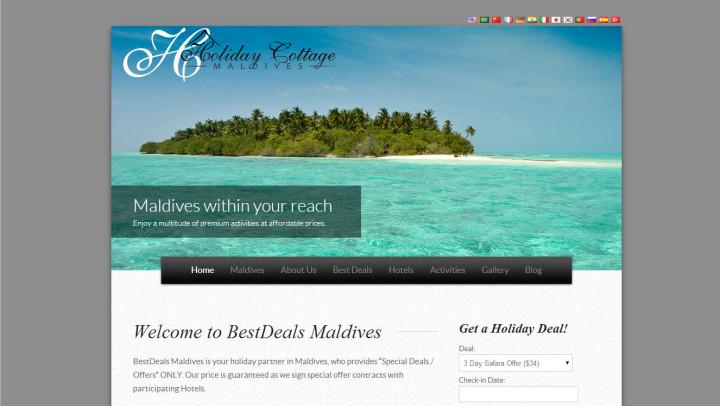 Holiday Cottage Maldives